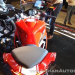 TVS Apache RR 310 Red India launch top view