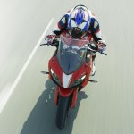 TVS Apache RR 310 action shot top