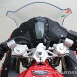 TVS Apache RR 310 first ride review cockpit