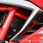 TVS Apache RR 310 first ride review engine head