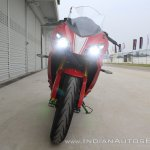 TVS Apache RR 310 first ride review front