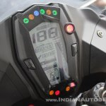 TVS Apache RR 310 first ride review instrument cluster