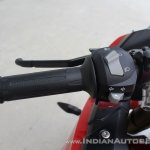TVS Apache RR 310 first ride review left switchgear