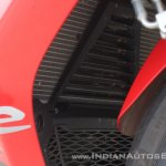 TVS Apache RR 310 first ride review radiator