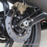 TVS Apache RR 310 first ride review rear brake