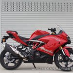 TVS Apache RR 310 first ride review right side