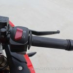TVS Apache RR 310 first ride review right switchgear