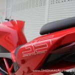 TVS Apache RR 310 first ride review tail sticker
