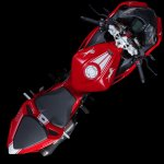 TVS Apache RR 310 top view