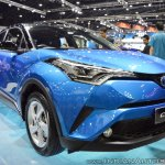 Toyota C-HR at Thai Motor Expo 2017 front angle