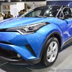 Toyota C-HR at Thai Motor Expo 2017 front three quarters
