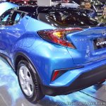 Toyota C-HR at Thai Motor Expo 2017 rear angle