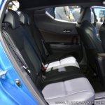 Toyota C-HR at Thai Motor Expo 2017 rear seats