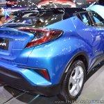 Toyota C-HR at Thai Motor Expo 2017 rear three quarters