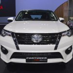 Toyota Fortuner TRD Sportivo front at 2017 Thai Motor Expo