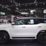Toyota Fortuner TRD Sportivo left side at 2017 Thai Motor Expo