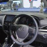 Toyota Yaris Ativ S dashboard at 2017 Thai Motor Expo
