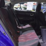 Toyota Yaris Ativ S rear seats at 2017 Thai Motor Expo