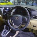 Toyota Yaris Ativ dashboard at 2017 Thai Motor Expo