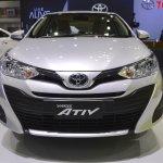 Toyota Yaris Ativ front at 2017 Thai Motor Expo