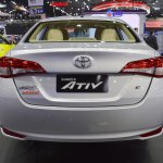Toyota Yaris Ativ rear at 2017 Thai Motor Expo