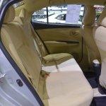 Toyota Yaris Ativ rear seats at 2017 Thai Motor Expo