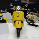 Vespa GTS Super 300 ABS Sport Edition front at 2017 Thai Motor Expo