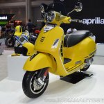 Vespa GTS Super 300 ABS Sport Edition front left quarter at 2017 Thai Motor Expo