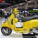 Vespa GTS Super 300 ABS Sport Edition left side at 2017 Thai Motor Expo
