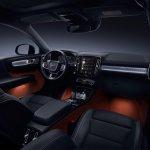 Volvo XC40 interior dashboard