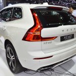 Volvo XC60 T8 R-Design at Thai Motor Expo 2017 rear angle