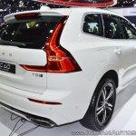 Volvo XC60 T8 R-Design at Thai Motor Expo 2017 rear three quarters
