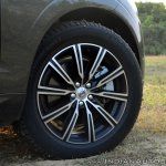 Volvo XC60 test drive review alloy wheels