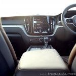 Volvo XC60 test drive review centre console