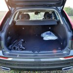 Volvo XC60 test drive review front angle boot space