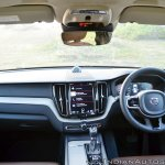 Volvo XC60 test drive review front angle dashboard