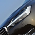 Volvo XC60 test drive review front angle headlamp