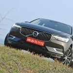 Volvo XC60 test drive review front angle low