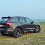 Volvo XC60 test drive review front angle rear angle