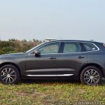 Volvo XC60 test drive review front angle side