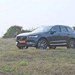 Volvo XC60 test drive review front angle view