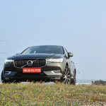 Volvo XC60 test drive review front low