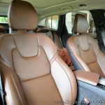Volvo XC60 test drive review front seats