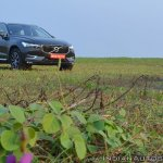 Volvo XC60 test drive review front three quarters low