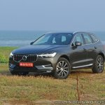 Volvo XC60 test drive review front three quarters