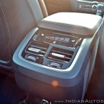 Volvo XC60 test drive review rear aircon vent