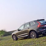 Volvo XC60 test drive review rear angle