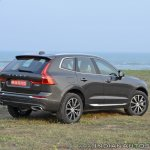 Volvo XC60 test drive review rear three quarters
