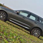 Volvo XC60 test drive review side