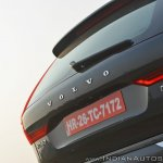 Volvo XC60 test drive review tail section